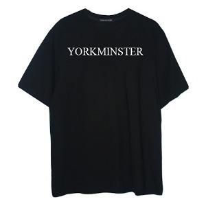 [YORKMINSTER] Name Short Sleeve - Black