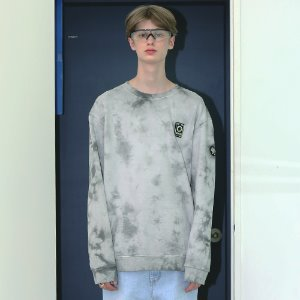 [APPARELXIT] UNISEX PATCH WASHING SWEAT SHIRTS GREY