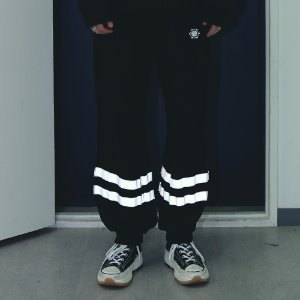[APPARELXIT] UNISEX COTTON SCOTCH JOGGER PANTS BLACK