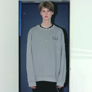 [APPARELXIT] UNISEX DISK SERVICE SWEAT SHIRTS GREY