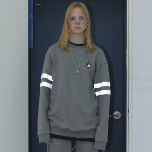 [APPARELXIT] UNISEX SCOTCH SWEAT SHIRTS CHARCOAL