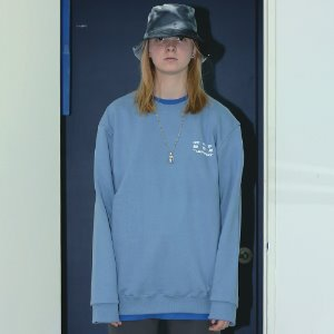 [APPARELXIT] UNISEX DISK SERVICE SWEAT SHIRTS SKY BLUE