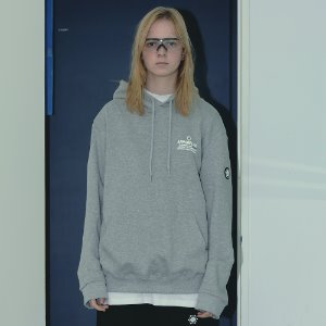 [APPARELXIT] UNISEX NETWORK PROJECT HOODIE GREY