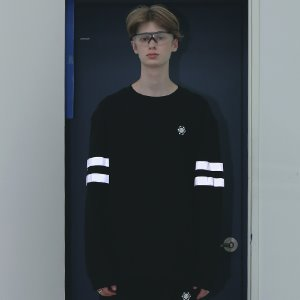[APPARELXIT] UNISEX SCOTCH SWEAT SHIRTS BLACK