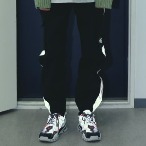 [APPARELXIT] UNISEX SCOTCH JOGGER PANTS BLACK