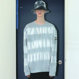 [APPARELXIT] UNISEX LINE WASHING SWEAT SHIRTS GREY