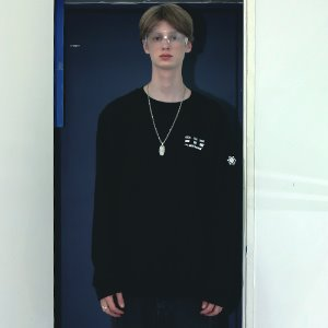 [APPARELXIT] UNISEX DISK SERVICE SWEAT SHIRTS BLACK