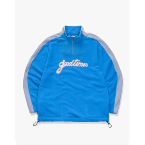 [해브어굿타임] Good Time Half-Zip Fleece - Blue