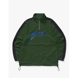 [have a good time] Good Time Half-Zip Fleece - Dark Green