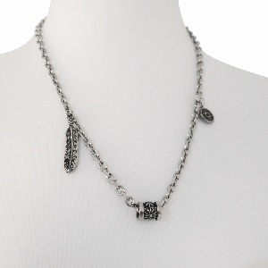 [TWENTYONEAUGUST]VINTAGE CHARMS NECKLACE - SILVER