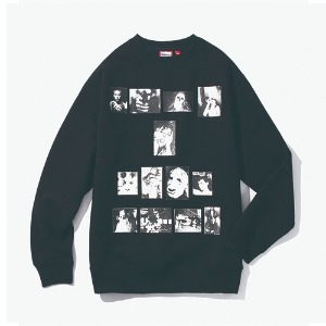 [have a good time] Weirdo Crewneck - Black
