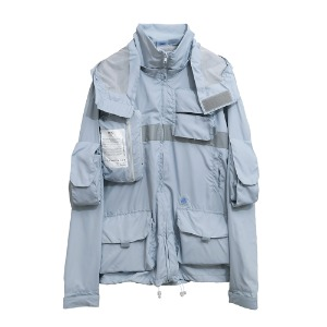 [AAC] 0.20 Smock Jacket-sky blue