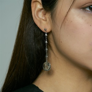 [HAWHA] Moonlight stars earing