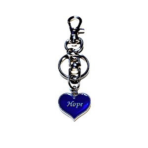 [HAWHA] Hope heart key ring