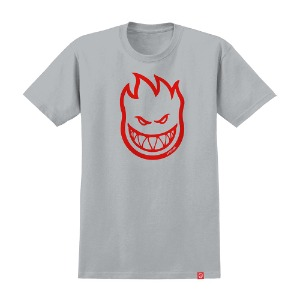 [Spitfire] BIGHEAD S/S T-Shirt - SILVER/RED 51010001DL