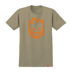 [Spitfire] BIGHEAD S/S T-Shirt - SAND/ORANGE 51010001GJ
