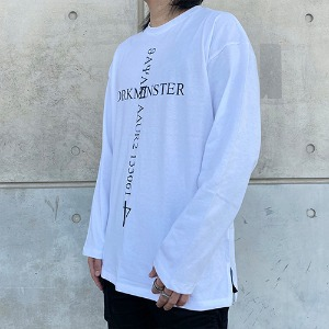 [YORKMINSTER]4th Lkijay Sleeve - White