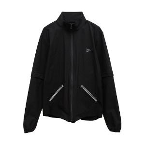 [AAC] V.S Detachable Zip Jacket-black