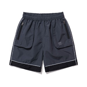[AAC] Mod01 Reflective Shorts-charcoal