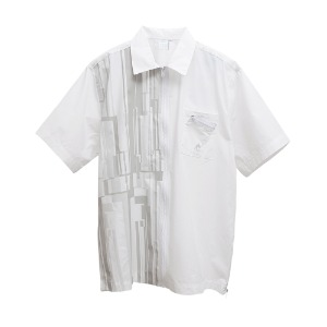 [AAC] Gotha.2 Zip Shirt-white