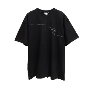 [AAC] Distorted Architecton T-shirt-black