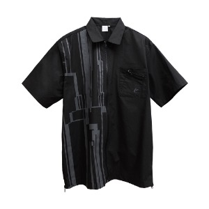 [AAC] Gotha.2 Zip Shirt-black