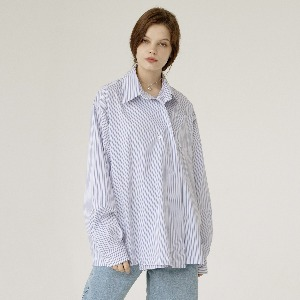 [ARDOROBE] one button oversized shirts AST201002-SK