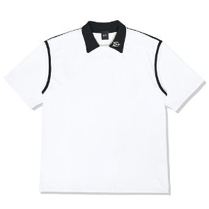 [OY]TAPE COLLAR T-WHITE