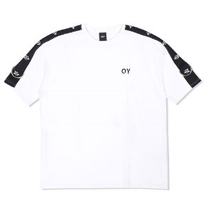 [OY]HALF TAPE RING T-WHITE