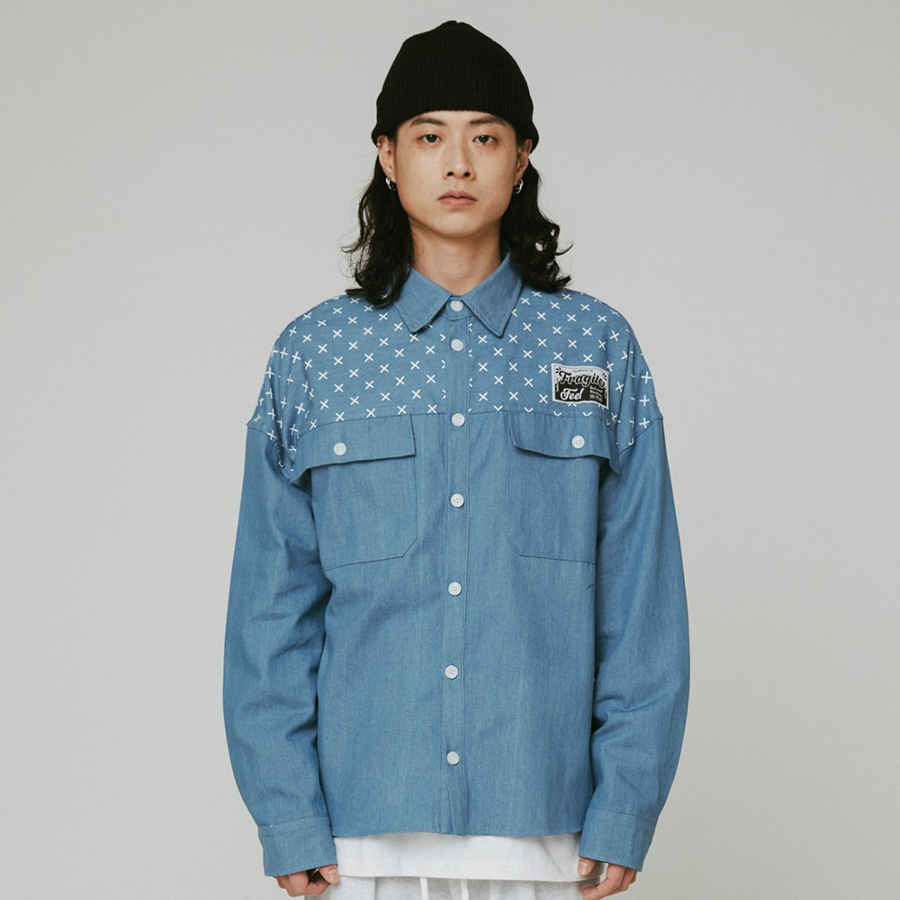 [필이너프] Origin Denim Shirts