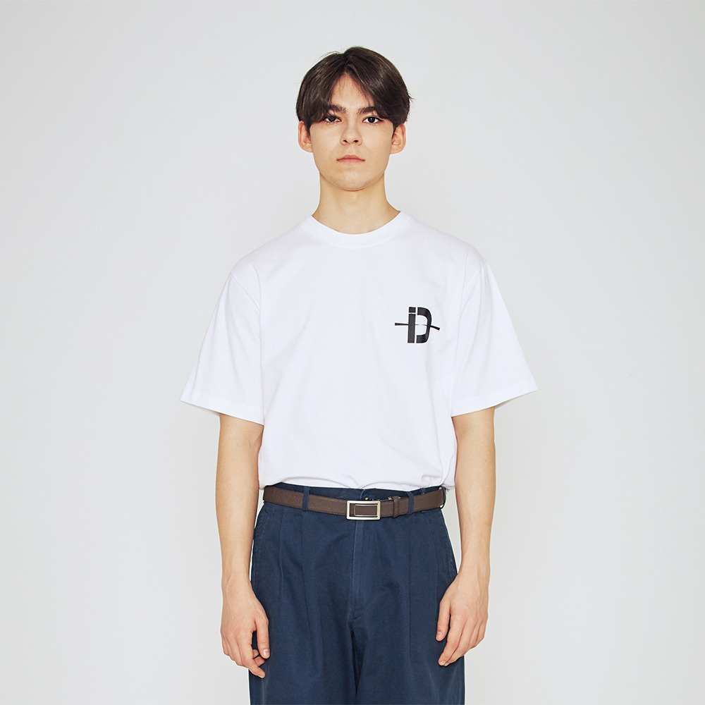[딥인다이브] SMALL D TSHIRT-WHITE