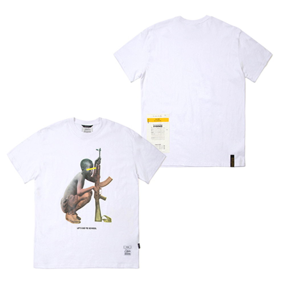 [스티그마]SOLDIER STANDARD FIT T-SHIRTS - WHITE