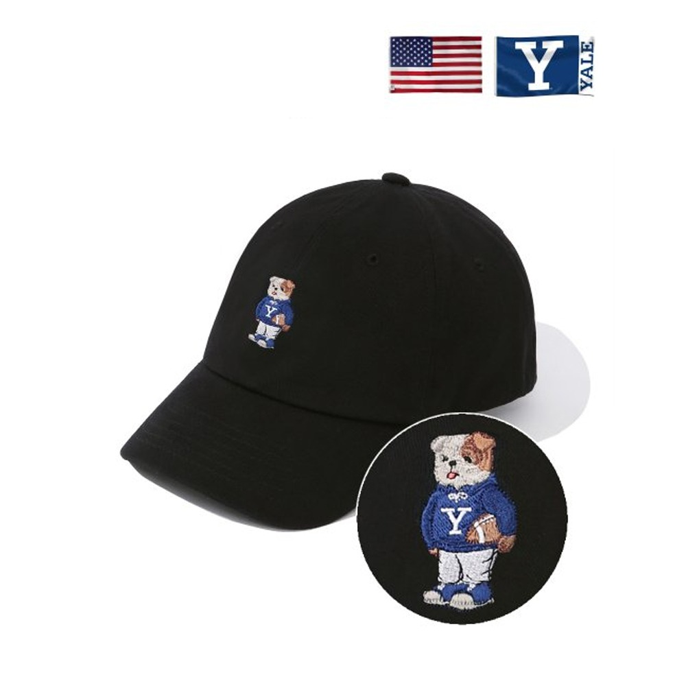 [PHYS.ED DEPT] EMBROIDERY HANDSOME DAN CAP BLACK