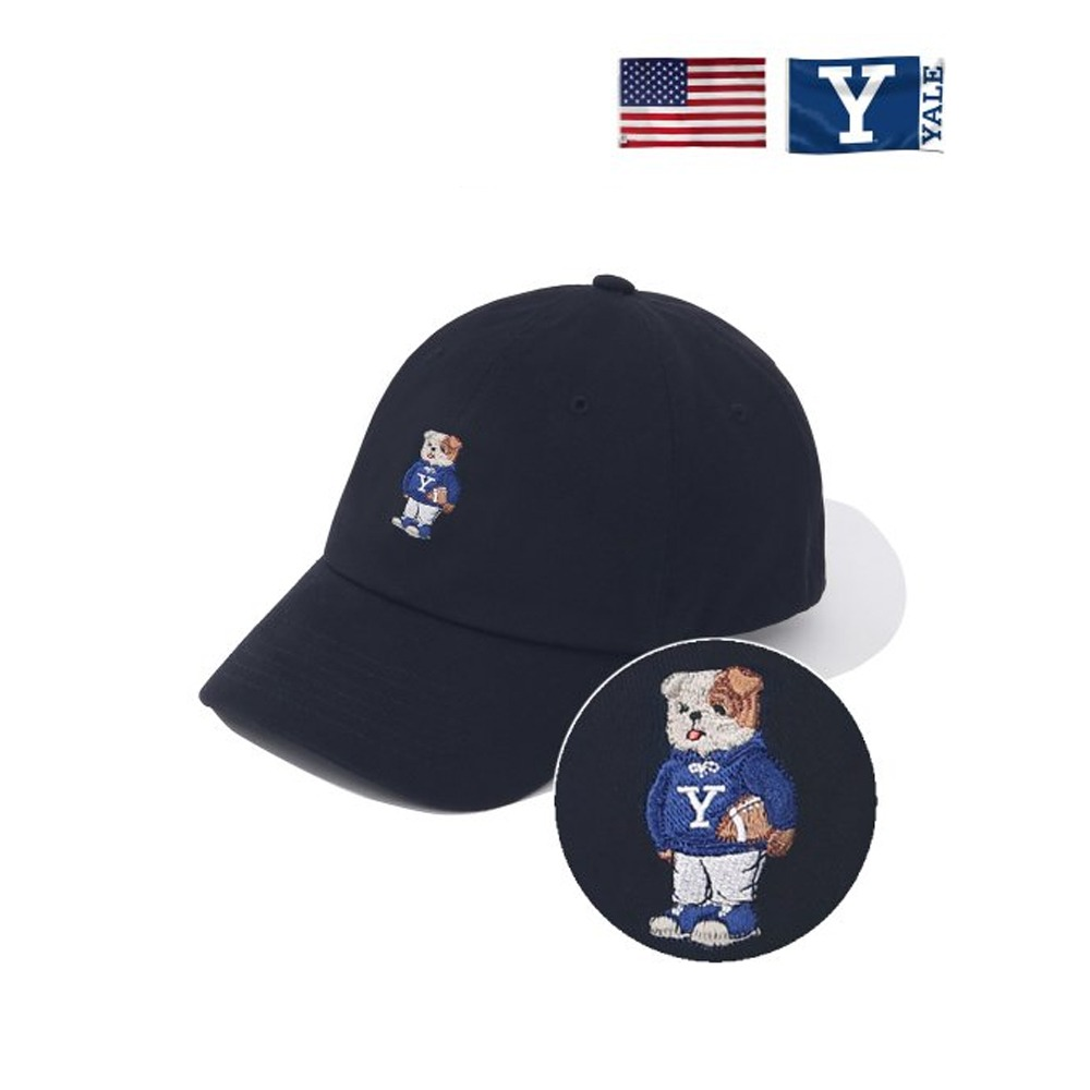 [PHYS.ED DEPT] EMBROIDERY HANDSOME DAN CAP NAVY