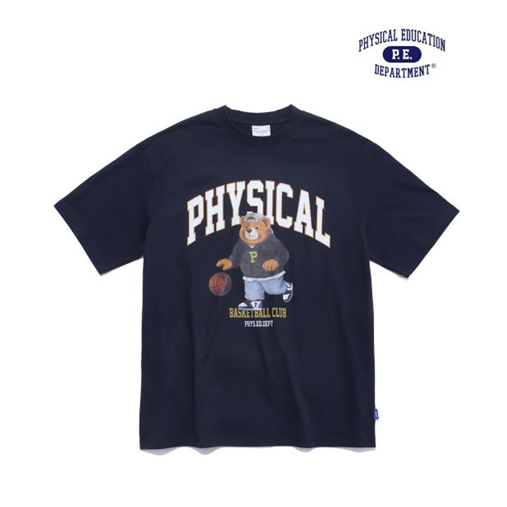 [PHYS.ED DEPT] FAT BEARS BASKETBALL DIET SS NAVY