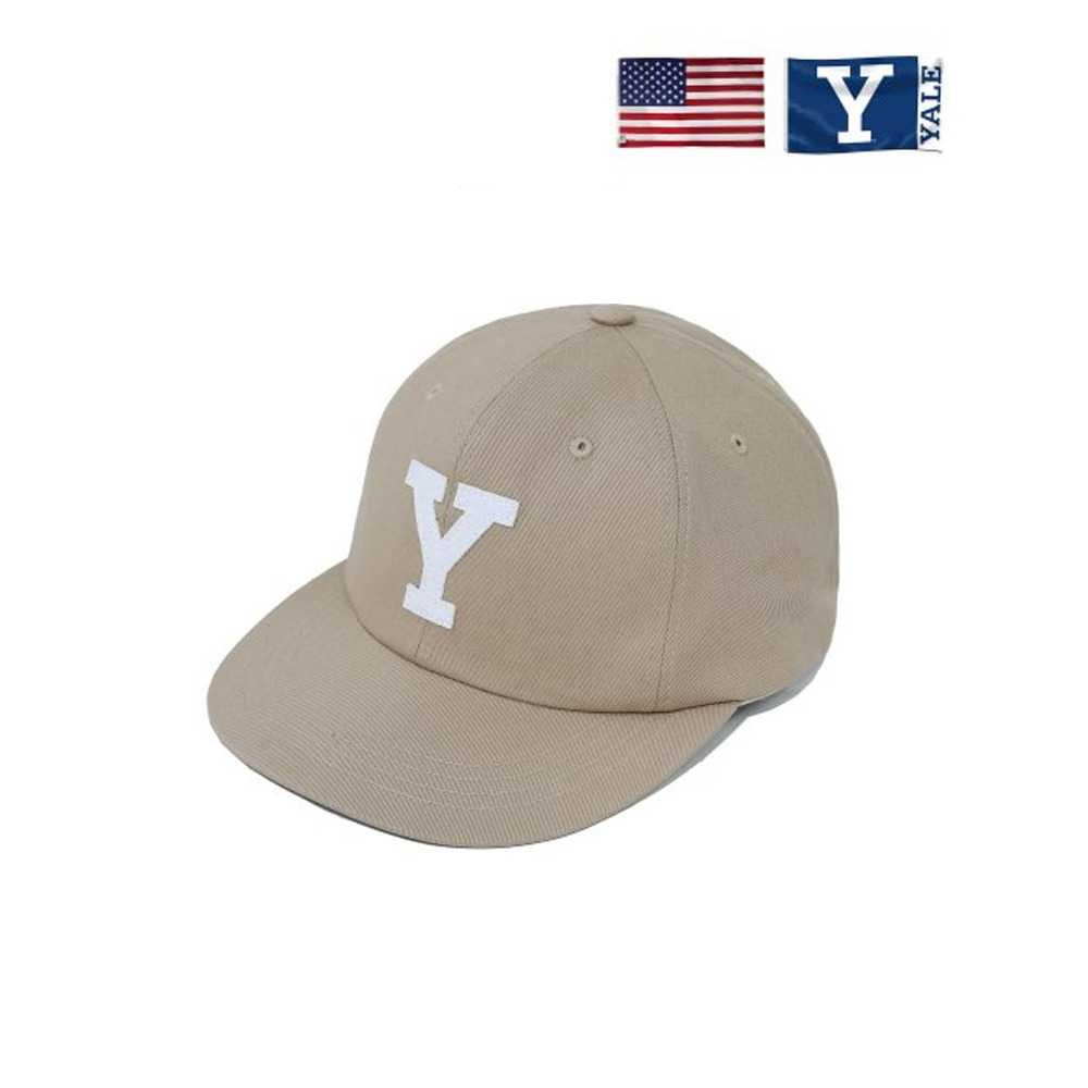 [PHYS.ED DEPT] BIG Y BALL CAP BEIGE