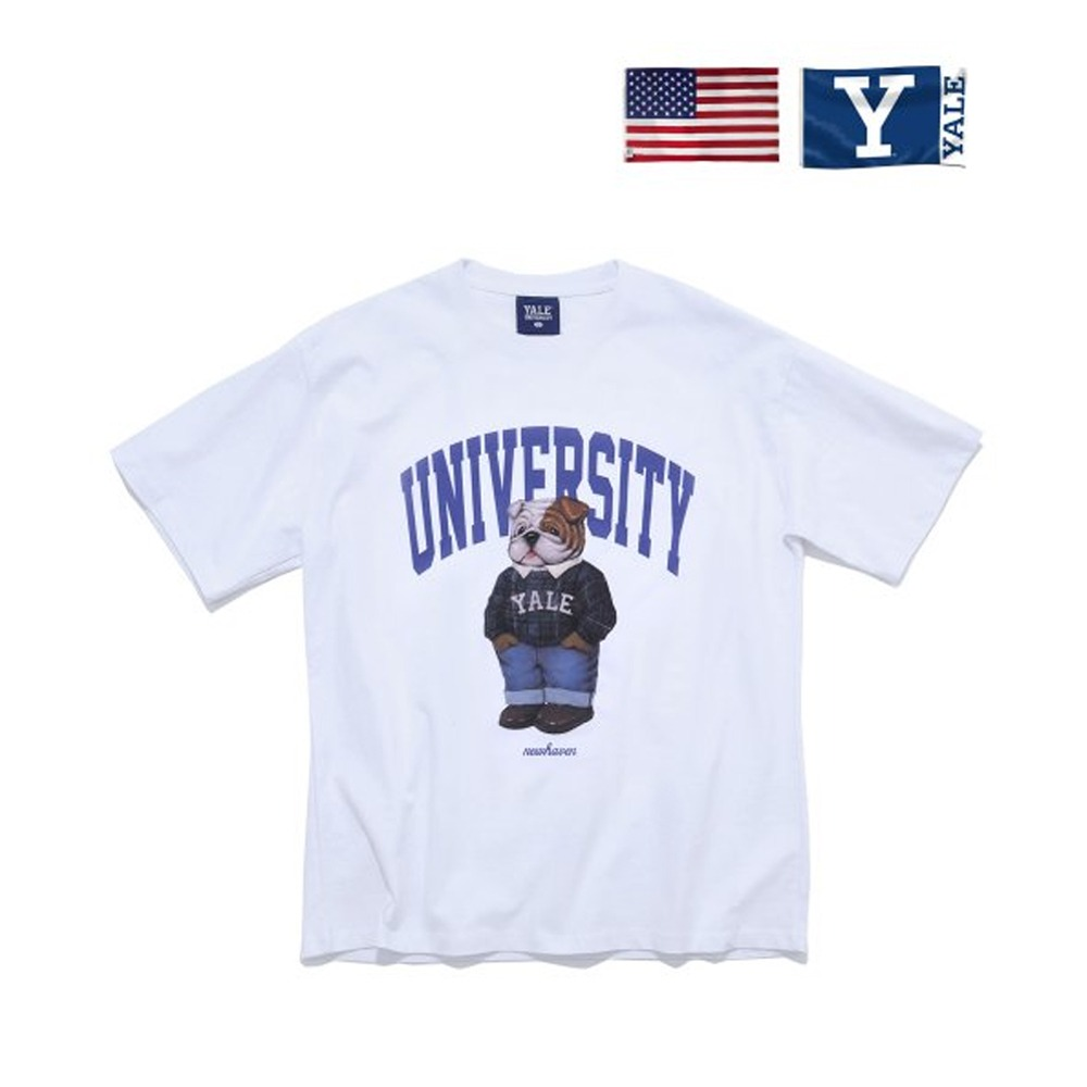 [PHYS.ED DEPT] PREPPY HANDSOME DAN TEE WHITE
