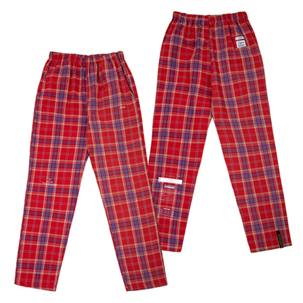 [스티그마]CHECK PAJAMA PANTS - RED