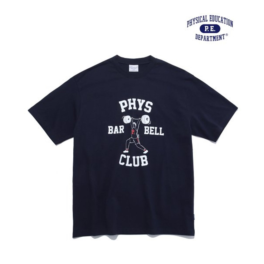[PHYS.ED DEPT] BARBELL CLUB NAVY