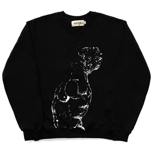[EASY BUSY] Male Nude Sweatshirts - Black