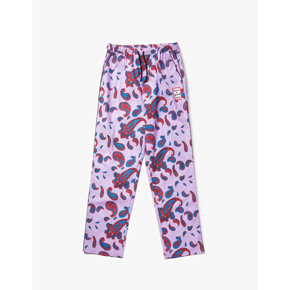 [Have a good time] Paisley Easy Pants - Paiseley Violet