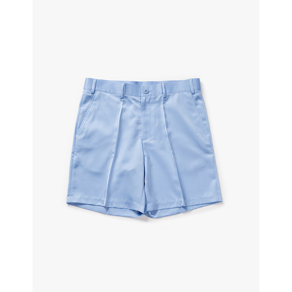 [Have a good time] Satin Shorts - Light Blue