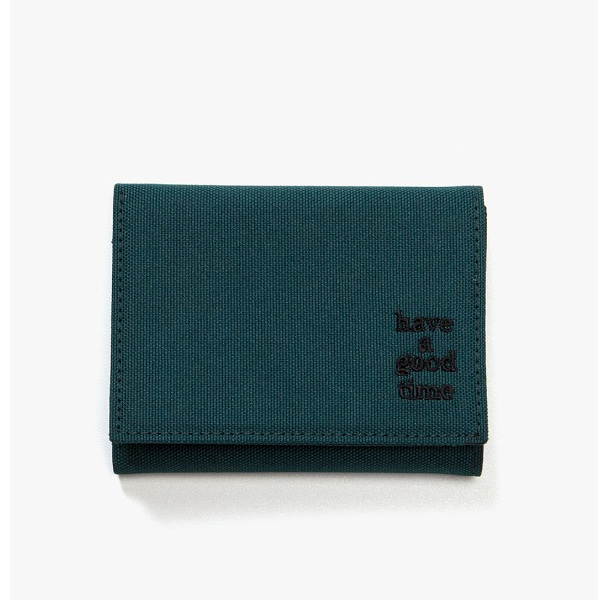 [have a good time] LOGO WALLET - Smokey Green