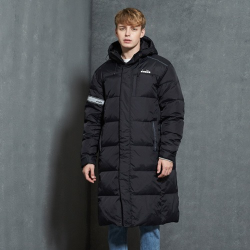 [디아도라] DSDJ01UDJ4 LONG DOWN JACKET - BLACK