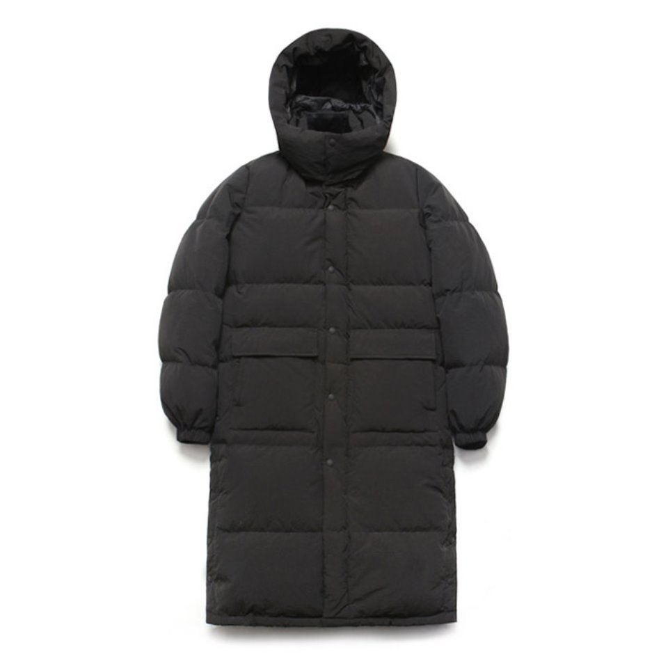[LAFUDGESTORE] Duck Down Bench Parka_Black
